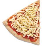Pizza Margarita con base de espelta integral