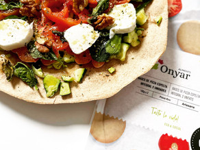 Receta de pizza vegetal ecológica