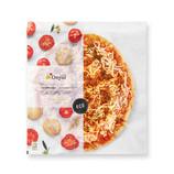 Pizza boloñesa vegetal