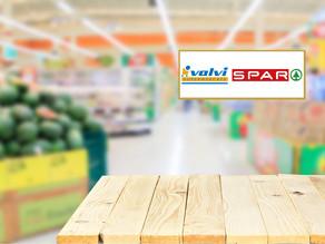 Ja estem als supermercats Valvi i Spar