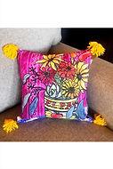 Fiesta Flowers - pillow - Cort.jpg