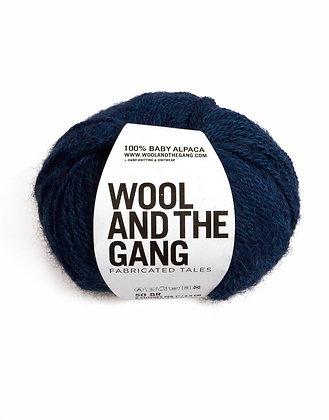 Wool and the Gang Sugar Baby Alpaca - Curasao Blue