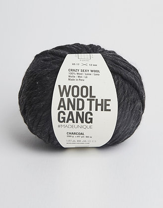 Wool and the Gang Crazy Sexy Wool - Charcoal