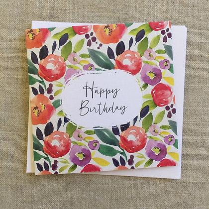 Petit Birthday Card - Field