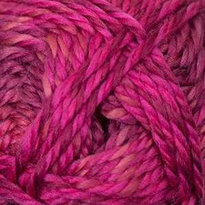 Cascade Pacific Chunky Color Wave - 412 Roses
