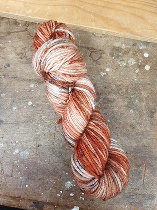 Saltbush Skeins 12 Ply Merino - Rust