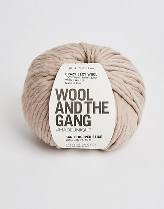 Wool and the Gang Crazy Sexy Wool - Sand Trooper Beige