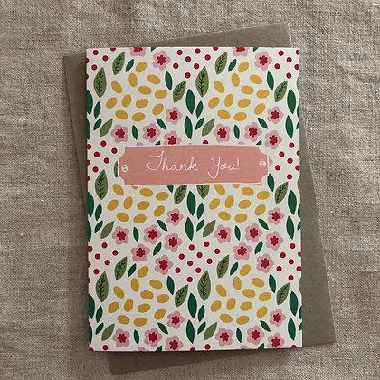 Occasions Card - Thank You Spring Garden