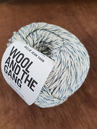 Wool and the Gang Billie Jean Yarn - Washed Out Denim