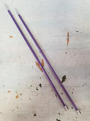 KnitPro Zing Straight Needles 3.75mm X 25cm