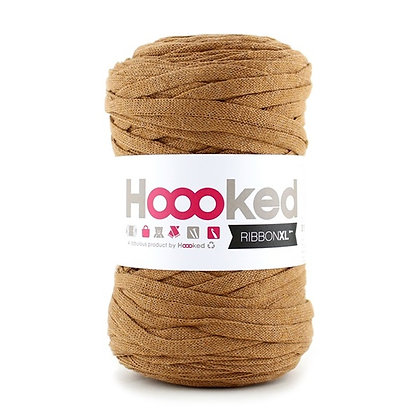 Hoooked Ribbon XL - RXL43 Caramel Brown