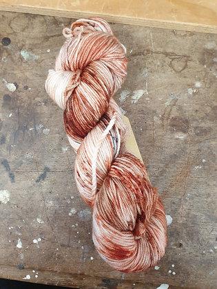 Saltbush Skeins 4 Ply Merino - Rust
