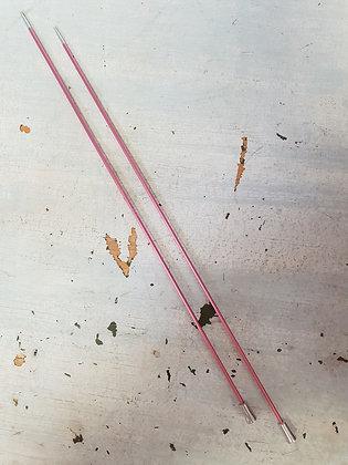 KnitPro Zing Straight Needles 2.00mm X 25cm
