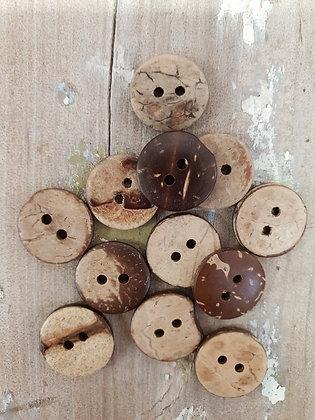 15mm Coconut Shell