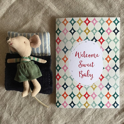 Occasions Card - Welcome Sweet Baby