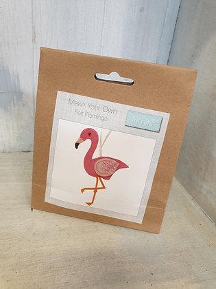 Make Your Own - Felt Flamingo
