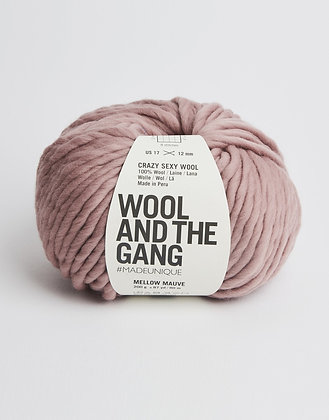 Wool and the Gang Crazy Sexy Wool - Mellow Mauve