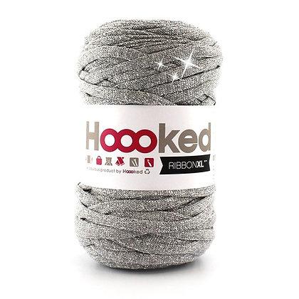 Hoooked Ribbon XL Lurex - RXL Lurex1 Silver Glitter