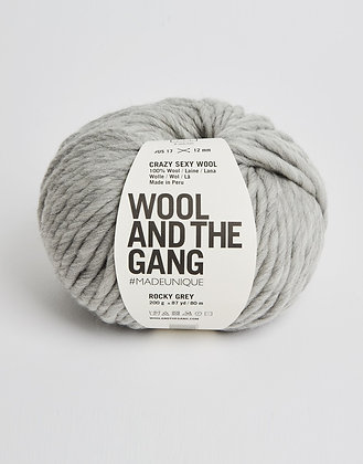 Wool and the Gang Crazy Sexy Wool - Rocky Grey