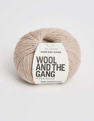 Wool and the Gang Sugar Baby Alpaca - Sand Trooper Beige