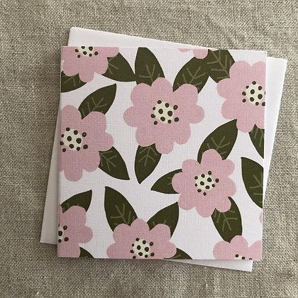 Petit Occasions Card - Camellia