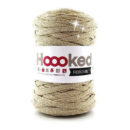 Hoooked Ribbon XL Lurex - RXL Lurex2 Golden Dust