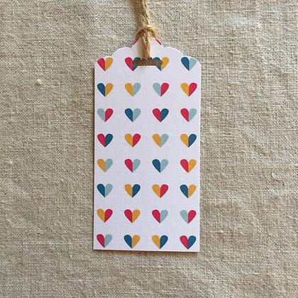 Gift Tag - Rainbow Love