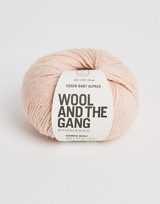 Wool and the Gang Sugar Baby Alpaca - Cameo Rose