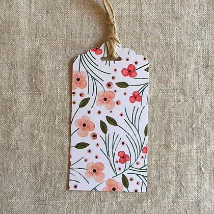 Gift Tag - Floral