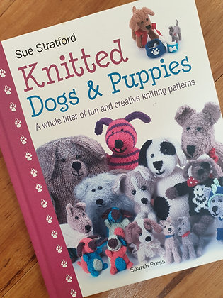 Knitted Dogs & Puppies by Sue Stratford