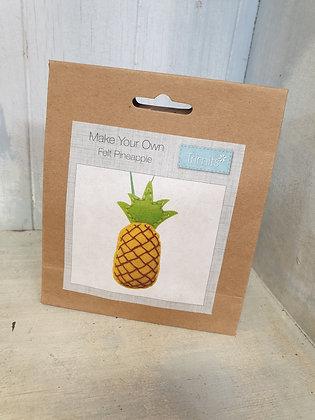 Make Your Own - Felt Pineapple