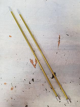 KnitPro Zing Straight Needles 3.50mm X 25cm