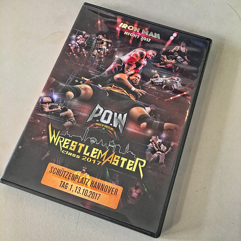 DVD - POW - WRESTLE MASTER CLASS 2017 | Hannover | vom 13.10.2017