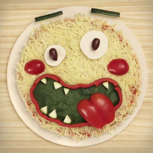 SESAME STREET: PIZZA FACE