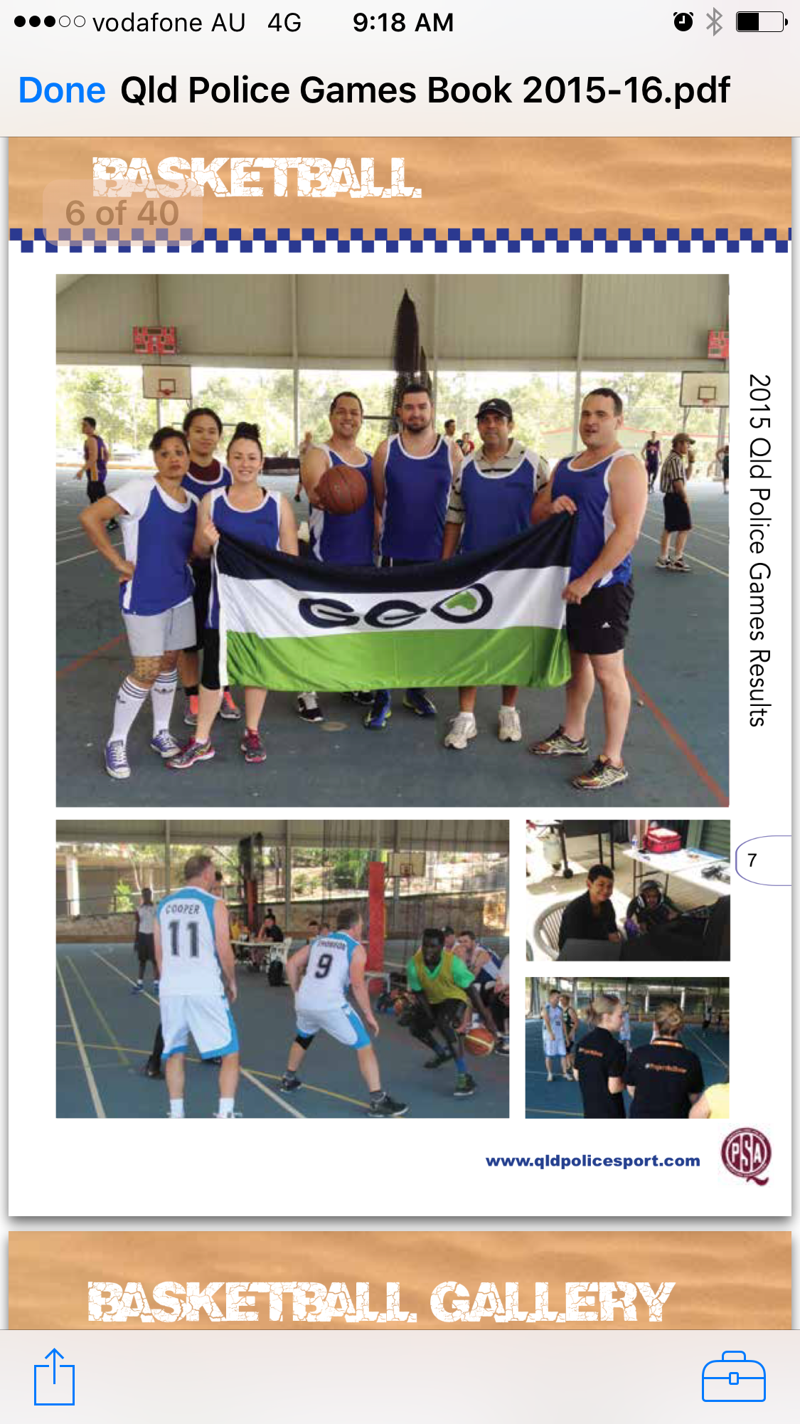 Qld Police Games