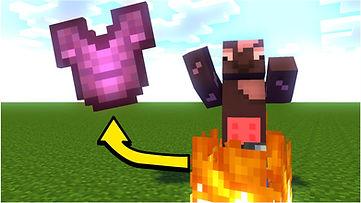 Minecraft But Fire = OP Loot