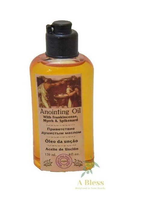 Anointing Oil wit Frankincense Myrrh & Spikenard - 120 Ml