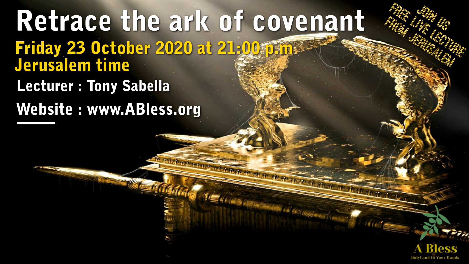 Retrace the Ark of Covenant