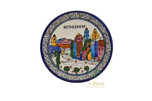 Ceramic Plate - Bethlehem