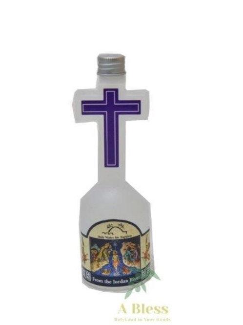 Holy Water Cross Bottle - 150 Ml