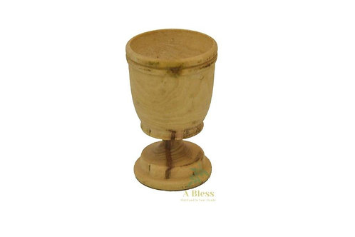 Olive Wood Communion Cup