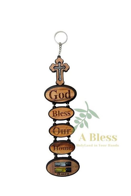 God Bless Our Home Wall Hanging