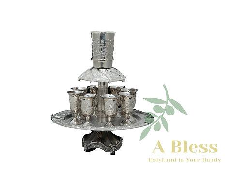 Silver Communion Cups Set