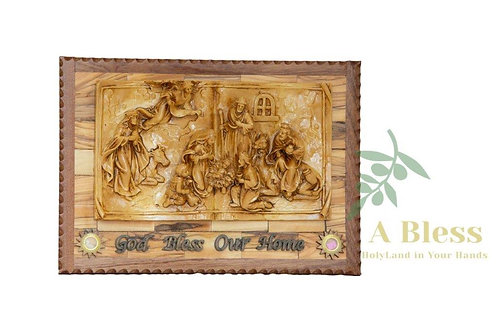 The Holy Family with Holy incense  - Wall Hanging