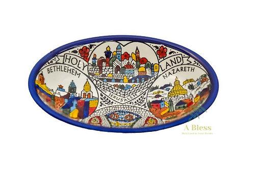 Ceramic Deep Dish - Holy Land