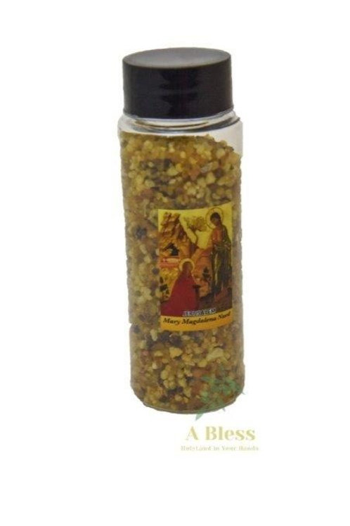 Mary Magdalena Nard Frankincense Incense Bottle