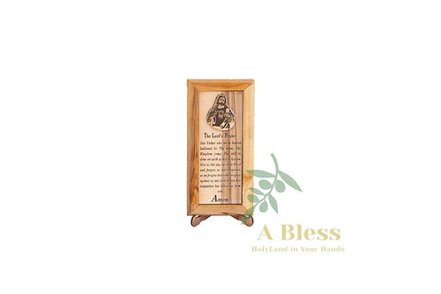 The Lord's Prayer Wooden Stand