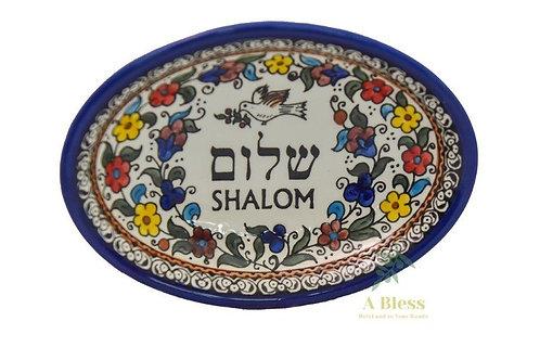 Ceramic Deep Dish - Shalom
