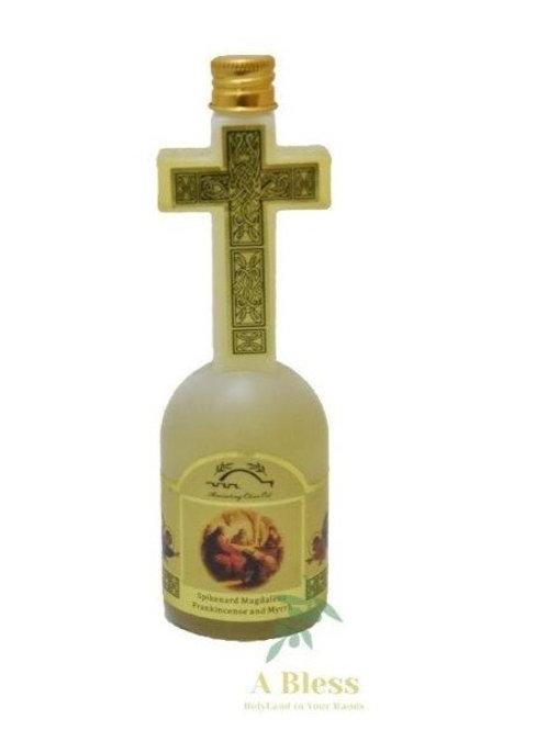 Anointing Oil Cross Bottle - 150 Ml