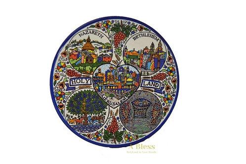 Ceramic Plate - Holy Land